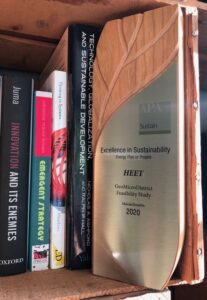 2020 APA Excellence in Sustainability; awarded to HEET for the GeoMicro District Feasibility Study